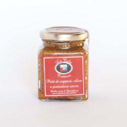 capperi olive e pomodoro secco