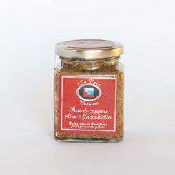 pate capperi olive e finocchietto